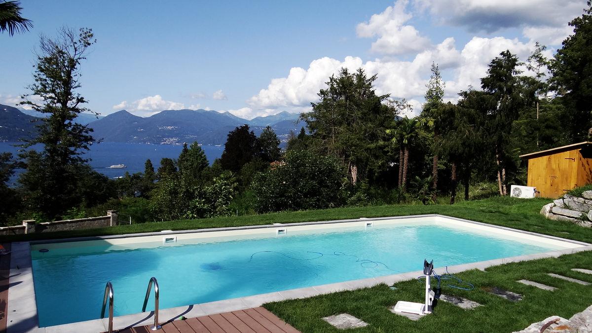 Basen murowany - Włochy